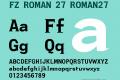 FZ ROMAN 27