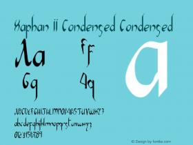 Xaphan II Condensed