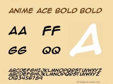 Anime Ace Bold