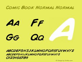 Comic Book Normal