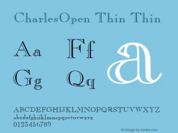 CharlesOpen Thin