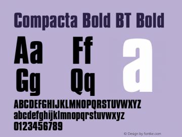 Compacta Bold BT