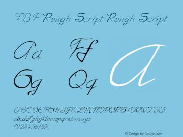 TBF Rough Script