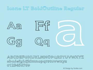 Icone LT BoldOutline