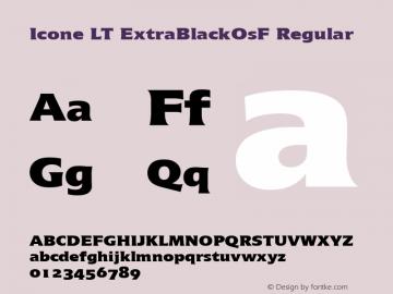 Icone LT ExtraBlackOsF
