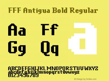 FFF Antigua Bold