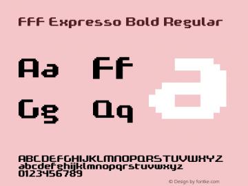 FFF Expresso Bold