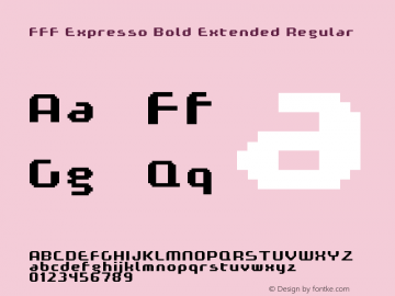 FFF Expresso Bold Extended