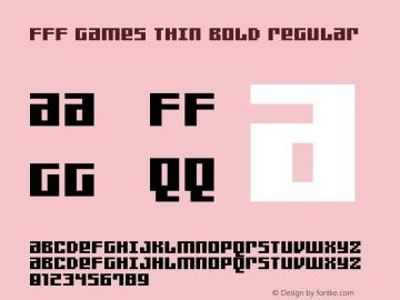 FFF Games Thin Bold