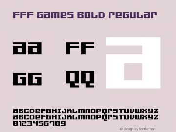 FFF Games Bold