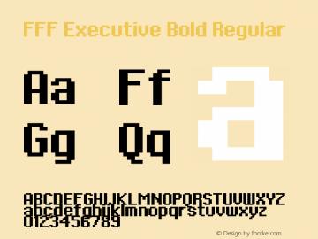 FFF Executive Bold