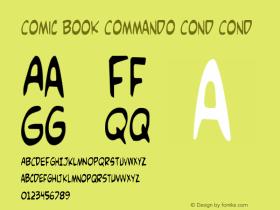 Comic Book Commando Cond