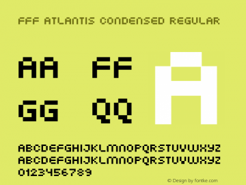 FFF Atlantis Condensed