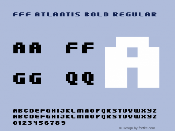 FFF Atlantis Bold