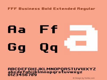 FFF Business Bold Extended