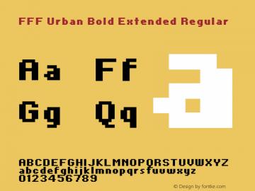FFF Urban Bold Extended