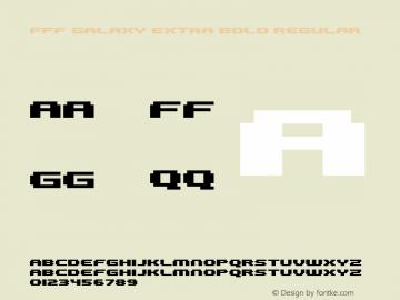 FFF Galaxy Extra Bold