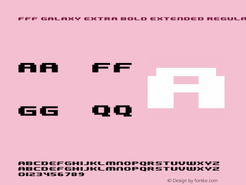 FFF Galaxy Extra Bold Extended