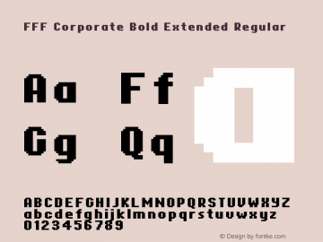 FFF Corporate Bold Extended
