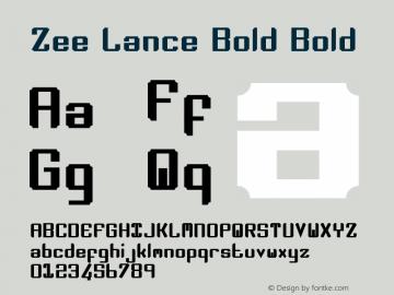 Zee Lance Bold