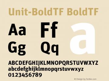 Unit-BoldTF
