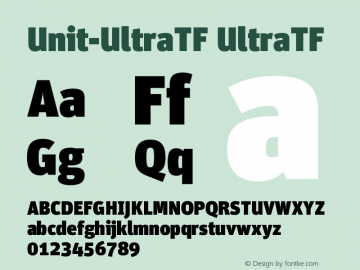Unit-UltraTF