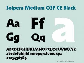 Solpera Medium OSF CE