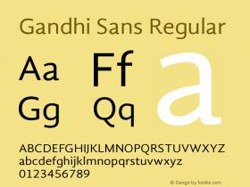 Gandhi Sans