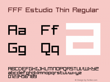 FFF Estudio Thin