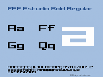 FFF Estudio Bold