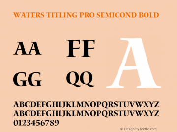 Waters Titling Pro Semicond