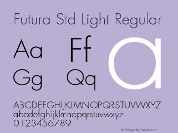 Futura Std Light