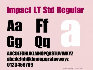 Impact LT Std