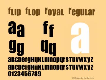 Flip Flop Royal
