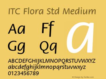 ITC Flora Std