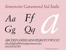 Simoncini Garamond Std