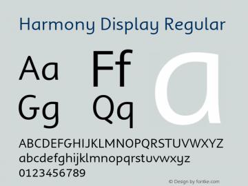 Harmony Display