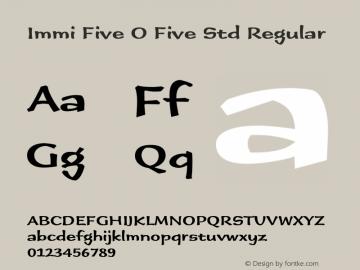 Immi Five O Five Std