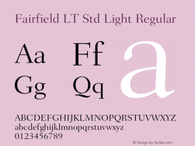 Fairfield LT Std Light