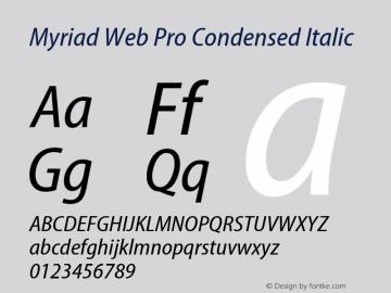 DFPHei MyriadPro-Font Family Search-Fontke com For Mobile