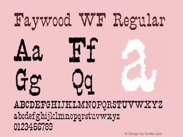 Faywood WF