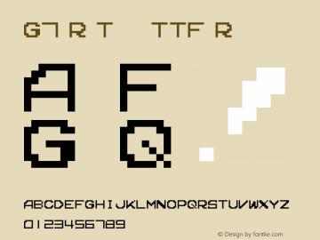 G7 R-Type TTF