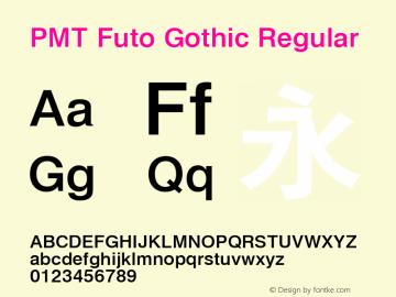 PMT Futo Gothic