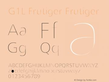 G1L-Frutiger