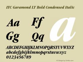 ITC Garamond LT