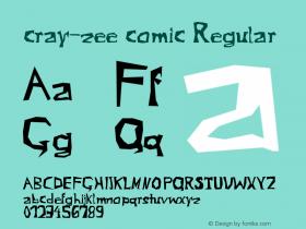 cray-zee comic