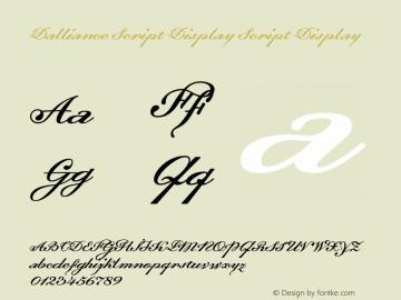 Dalliance Script Display