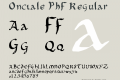 Onciale PhF
