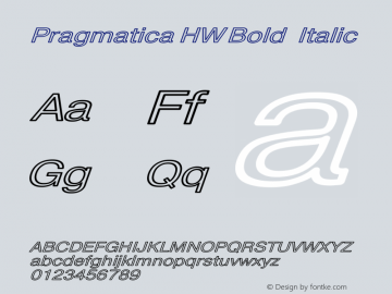 Pragmatica HW