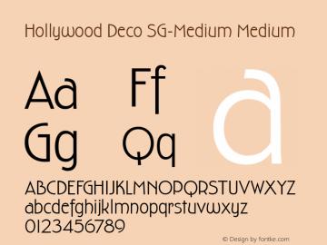 Hollywood Deco SG-Medium